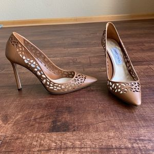 Jimmy choo Pointed toe 9.5M (39.5) stilettos pumps